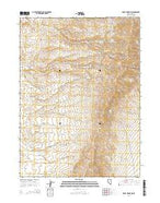 Knoll Mountain Nevada Current topographic map, 1:24000 scale, 7.5 X 7.5 Minute, Year 2014 from Nevada Map Store