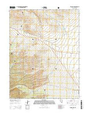 Lehman Caves Nevada Current topographic map, 1:24000 scale, 7.5 X 7.5 Minute, Year 2014 from Nevada Maps Store