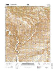 Leith Nevada Current topographic map, 1:24000 scale, 7.5 X 7.5 Minute, Year 2014 from Nevada Maps Store