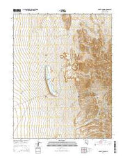 Liberty Springs Nevada Current topographic map, 1:24000 scale, 7.5 X 7.5 Minute, Year 2014 from Nevada Maps Store