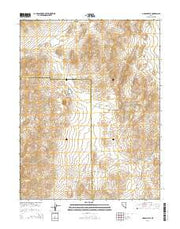 Lincoln Flat Nevada Current topographic map, 1:24000 scale, 7.5 X 7.5 Minute, Year 2014 from Nevada Maps Store