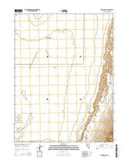 Lone Rock SE Nevada Current topographic map, 1:24000 scale, 7.5 X 7.5 Minute, Year 2014 from Nevada Maps Store