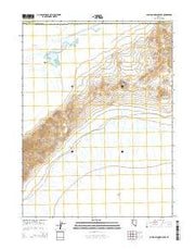 Lovelock Indian Caves Nevada Current topographic map, 1:24000 scale, 7.5 X 7.5 Minute, Year 2014 from Nevada Maps Store