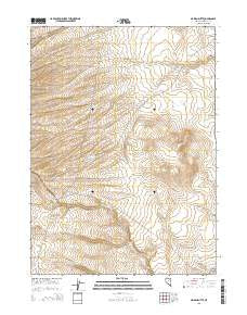 Maiden Butte Nevada Current topographic map, 1:24000 scale, 7.5 X 7.5 Minute, Year 2015