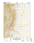 Majors Place Nevada Current topographic map, 1:24000 scale, 7.5 X 7.5 Minute, Year 2014 from Nevada Map Store