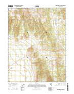 Marking Corral Summit Nevada Current topographic map, 1:24000 scale, 7.5 X 7.5 Minute, Year 2014 from Nevada Map Store