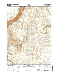 Massacre Lake NW Nevada Current topographic map, 1:24000 scale, 7.5 X 7.5 Minute, Year 2015