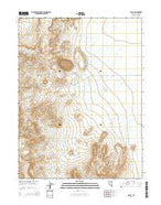 McCoy Nevada Current topographic map, 1:24000 scale, 7.5 X 7.5 Minute, Year 2014 from Nevada Map Store