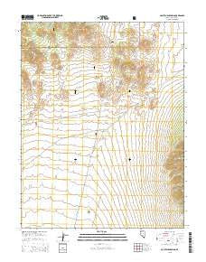McCutchen Spring Nevada Current topographic map, 1:24000 scale, 7.5 X 7.5 Minute, Year 2015