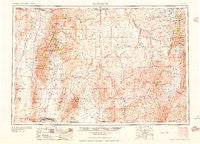 McDermitt Nevada Historical topographic map, 1:250000 scale, 1 X 2 Degree, Year 1959