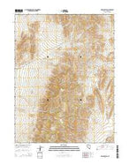 McKinney Pass Nevada Current topographic map, 1:24000 scale, 7.5 X 7.5 Minute, Year 2014 from Nevada Map Store