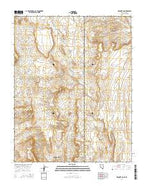 Mesquite NE Nevada Current topographic map, 1:24000 scale, 7.5 X 7.5 Minute, Year 2014 from Nevada Map Store