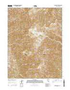 Mount Augusta Nevada Current topographic map, 1:24000 scale, 7.5 X 7.5 Minute, Year 2014 from Nevada Map Store