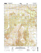 Mount Hicks Nevada Current topographic map, 1:24000 scale, 7.5 X 7.5 Minute, Year 2014 from Nevada Map Store