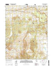 Mount Hicks Nevada Current topographic map, 1:24000 scale, 7.5 X 7.5 Minute, Year 2014 from Nevada Maps Store