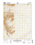 Mount Irish SE Nevada Current topographic map, 1:24000 scale, 7.5 X 7.5 Minute, Year 2014 from Nevada Map Store