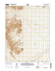 Mount Irish SE Nevada Current topographic map, 1:24000 scale, 7.5 X 7.5 Minute, Year 2014 from Nevada Maps Store