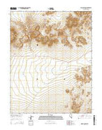 Mount Jackson Nevada Current topographic map, 1:24000 scale, 7.5 X 7.5 Minute, Year 2014 from Nevada Map Store