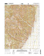 Northumberland Pass Nevada Current topographic map, 1:24000 scale, 7.5 X 7.5 Minute, Year 2014 from Nevada Map Store