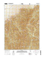 Nyala Nevada Current topographic map, 1:24000 scale, 7.5 X 7.5 Minute, Year 2014 from Nevada Map Store