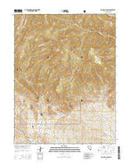 Old Mans Canyon Nevada Current topographic map, 1:24000 scale, 7.5 X 7.5 Minute, Year 2014 from Nevada Map Store