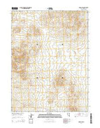 Oreana NW Nevada Current topographic map, 1:24000 scale, 7.5 X 7.5 Minute, Year 2014 from Nevada Map Store