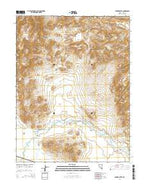 Parker Butte Nevada Current topographic map, 1:24000 scale, 7.5 X 7.5 Minute, Year 2014 from Nevada Map Store