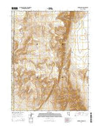 Parker Canyon Nevada Current topographic map, 1:24000 scale, 7.5 X 7.5 Minute, Year 2014 from Nevada Map Store