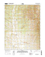 Parker Station Nevada Current topographic map, 1:24000 scale, 7.5 X 7.5 Minute, Year 2014 from Nevada Map Store