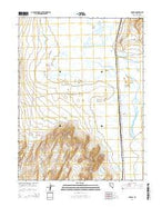 Parran Nevada Current topographic map, 1:24000 scale, 7.5 X 7.5 Minute, Year 2014 from Nevada Map Store