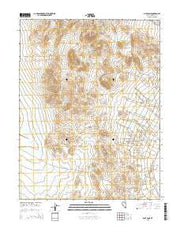 Pilot Cone Nevada Current topographic map, 1:24000 scale, 7.5 X 7.5 Minute, Year 2015 from Nevada Maps Store