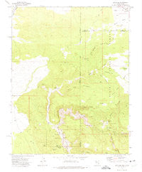 Pine Park Utah Historical topographic map, 1:24000 scale, 7.5 X 7.5 Minute, Year 1972