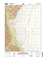 Pine Creek Ranch Nevada Current topographic map, 1:24000 scale, 7.5 X 7.5 Minute, Year 2015 from Nevada Maps Store