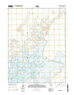 Pintail Bay Nevada Current topographic map, 1:24000 scale, 7.5 X 7.5 Minute, Year 2014 from Nevada Map Store