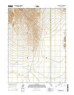 Pinto Summit SW Nevada Current topographic map, 1:24000 scale, 7.5 X 7.5 Minute, Year 2014 from Nevada Map Store