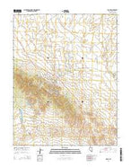 Pioche Nevada Current topographic map, 1:24000 scale, 7.5 X 7.5 Minute, Year 2014 from Nevada Map Store