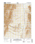 Pirouette Mountain Nevada Current topographic map, 1:24000 scale, 7.5 X 7.5 Minute, Year 2014 from Nevada Map Store