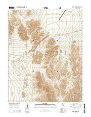 Point of Rocks Nevada Current topographic map, 1:24000 scale, 7.5 X 7.5 Minute, Year 2015 from Nevada Maps Store