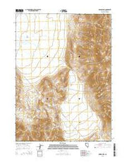 Powers Well Nevada Current topographic map, 1:24000 scale, 7.5 X 7.5 Minute, Year 2015 from Nevada Maps Store