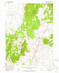 Preston Reservoir Nevada Historical topographic map, 1:62500 scale, 15 X 15 Minute, Year 1959