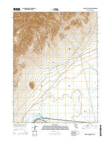 Red House Flat West Nevada Current topographic map, 1:24000 scale, 7.5 X 7.5 Minute, Year 2015