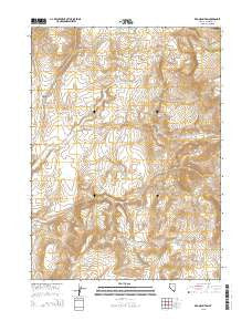 Red Mountain Nevada Current topographic map, 1:24000 scale, 7.5 X 7.5 Minute, Year 2015