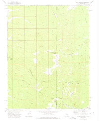 Rice Mountain Utah Historical topographic map, 1:24000 scale, 7.5 X 7.5 Minute, Year 1972