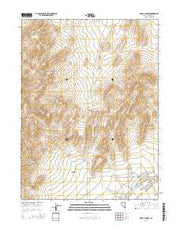 Rocky Canyon Nevada Current topographic map, 1:24000 scale, 7.5 X 7.5 Minute, Year 2015 from Nevada Maps Store