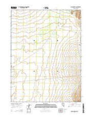 Rodeo Creek SW Nevada Current topographic map, 1:24000 scale, 7.5 X 7.5 Minute, Year 2014 from Nevada Maps Store