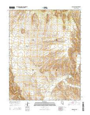 Rose Valley Nevada Current topographic map, 1:24000 scale, 7.5 X 7.5 Minute, Year 2014 from Nevada Maps Store