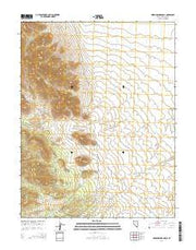 Rosencrans Knolls Nevada Current topographic map, 1:24000 scale, 7.5 X 7.5 Minute, Year 2014 from Nevada Maps Store