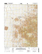 Round Mountain Nevada Current topographic map, 1:24000 scale, 7.5 X 7.5 Minute, Year 2014 from Nevada Map Store
