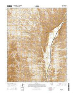 Rox Nevada Current topographic map, 1:24000 scale, 7.5 X 7.5 Minute, Year 2014 from Nevada Map Store