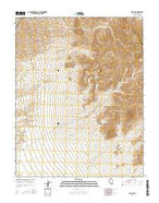 Rox NE Nevada Current topographic map, 1:24000 scale, 7.5 X 7.5 Minute, Year 2014 from Nevada Map Store